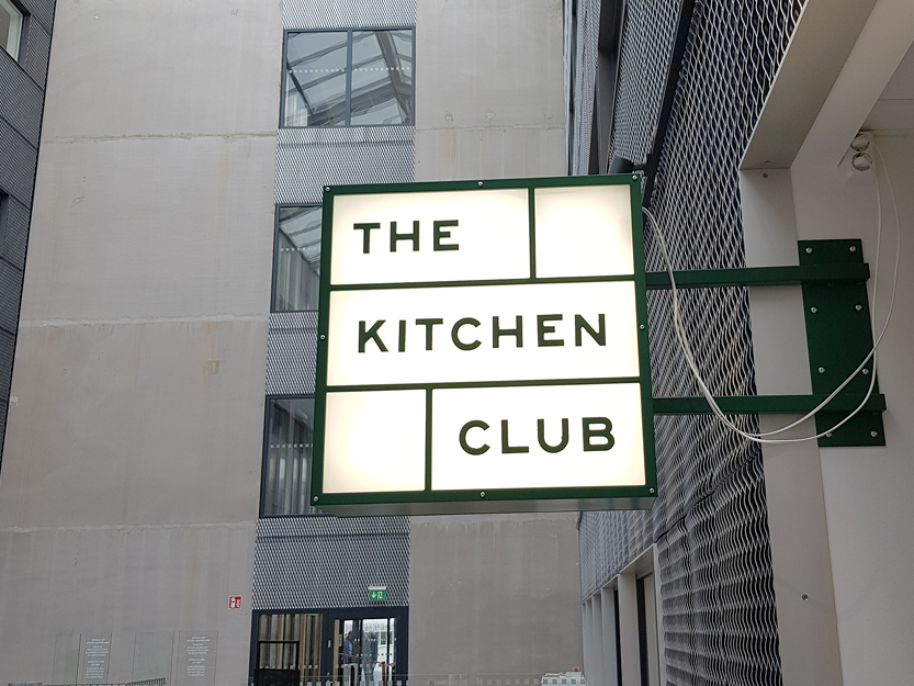 Skilt til Kitchen Club | Coor